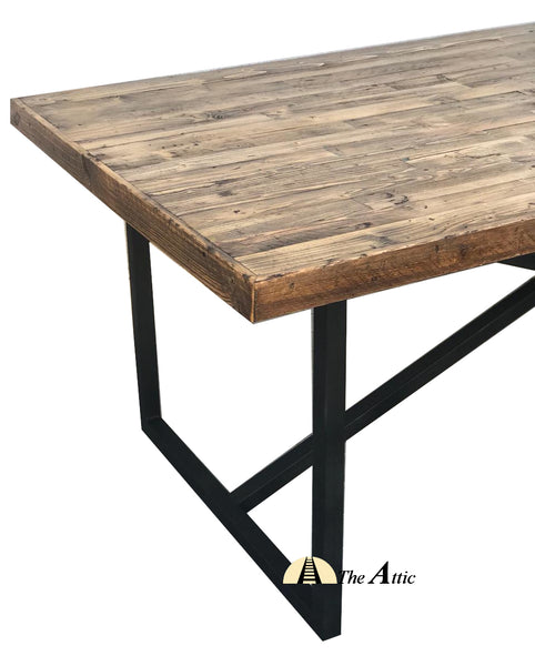 Harbour Industrial X-Leg Dining Table Dinning Attic
