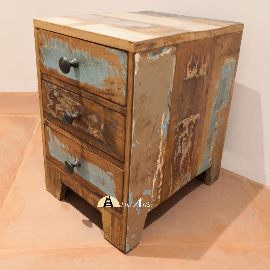 Reclaimed Wood Small Chest of Drawers