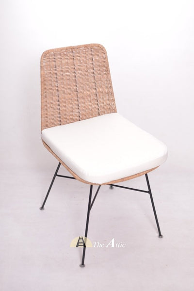 Iwaka Rattan Dining Chair, Rattan Wicker Furniture - theattic-dubai.com