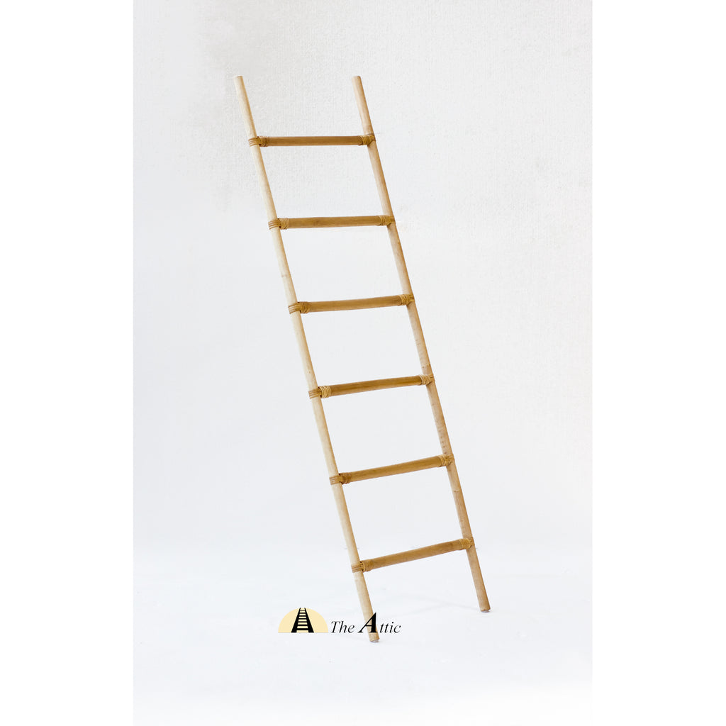 Decorative Natural Rattan Ladder, theattic-dubai.com