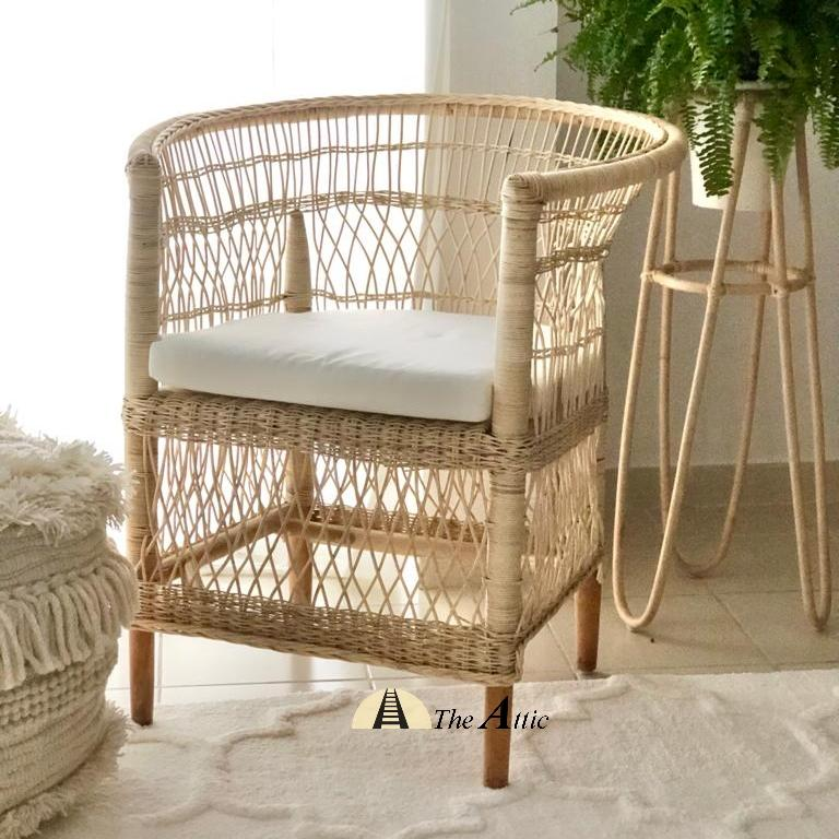 Malawi Chair, Malawi Rattan Chair, Rattan Furniture, theattic-dubai.com