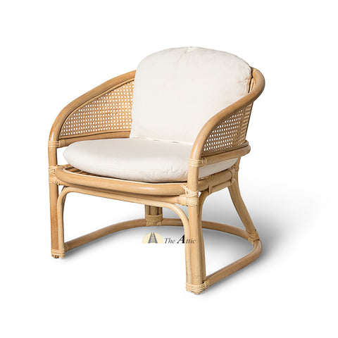 Malibu Rattan Lounge Chair, Arm Chair, Rattan Wicker Furniture - The Attic Dubai