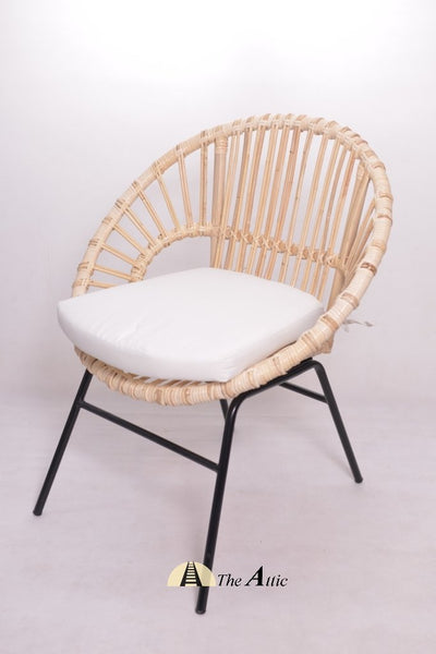 Maroko Rattan Round Tub Chair - theattic-dubai.com