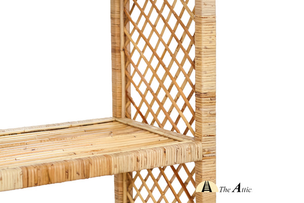 Maya Rattan Shelf - The Attic Dubai