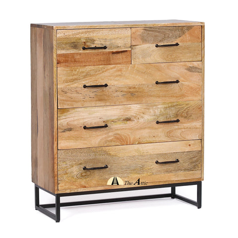 Modern Minimalist Chest of Drawers - The Attic Dubai