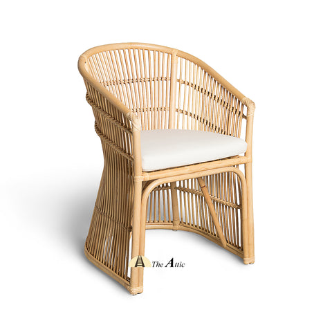 Palm Rattan Dining Chair