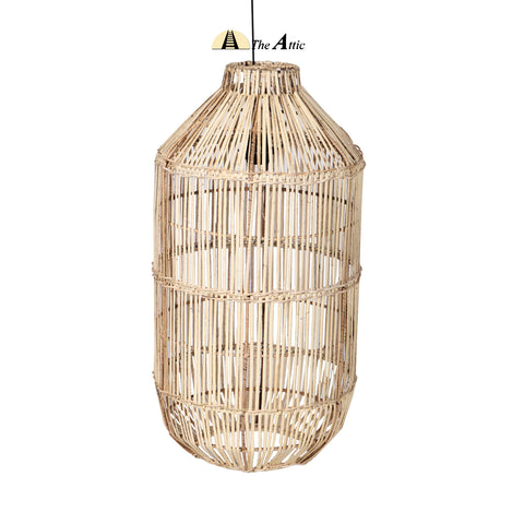 Pearl Drop Rattan Pendant, Rattan Furniture - TheAttic-Dubai.com
