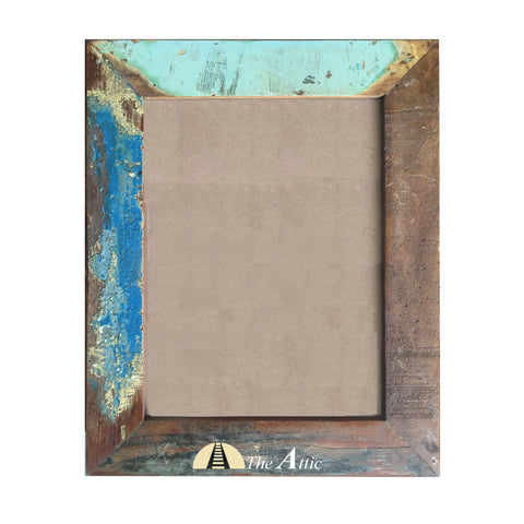Reclaimed Wood Hanging Photo Frame, 9x12 inch