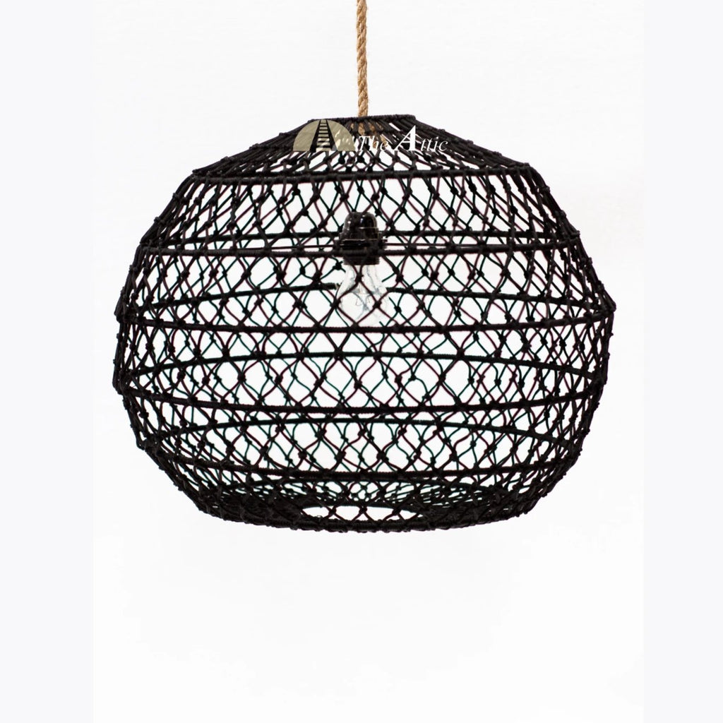 Plum Rope Pendant Lamp - theattic-dubai.com