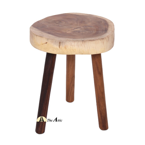 Rainwood 3-legged Stool /  Side Table