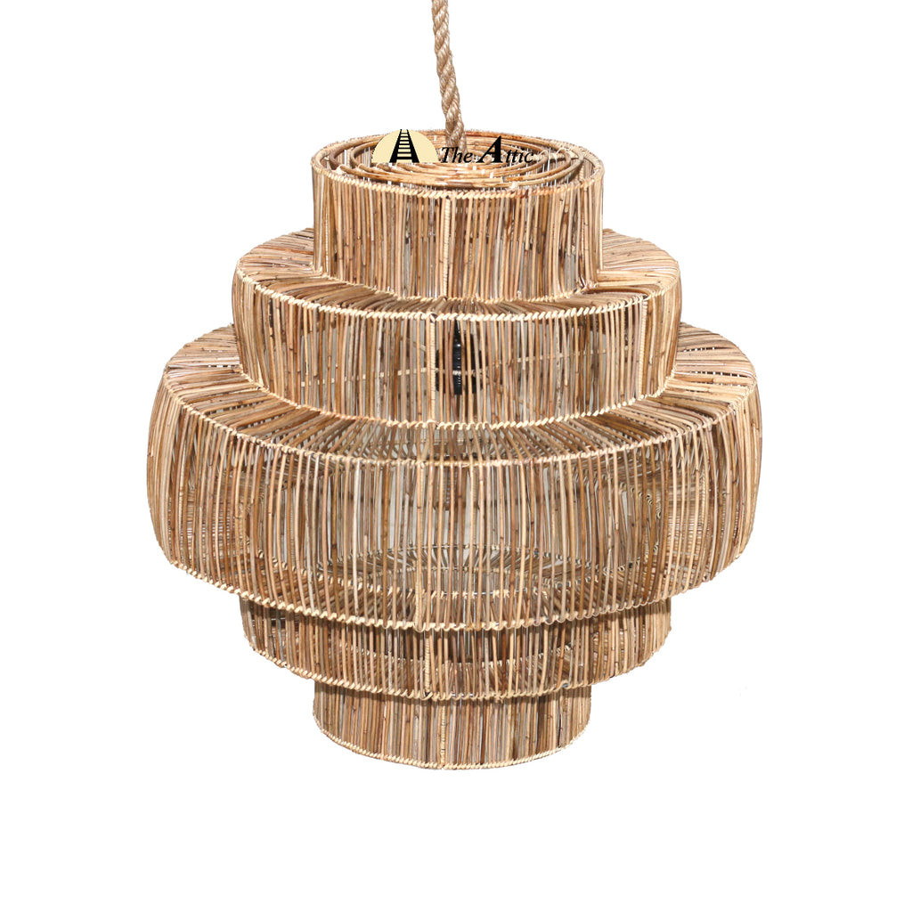 Raphael Rattan Pendant, Rattan Furniture - The Attic Dubai
