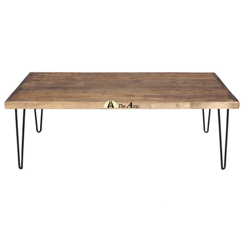 Parquet d'Anglais Hairpin Coffee Table