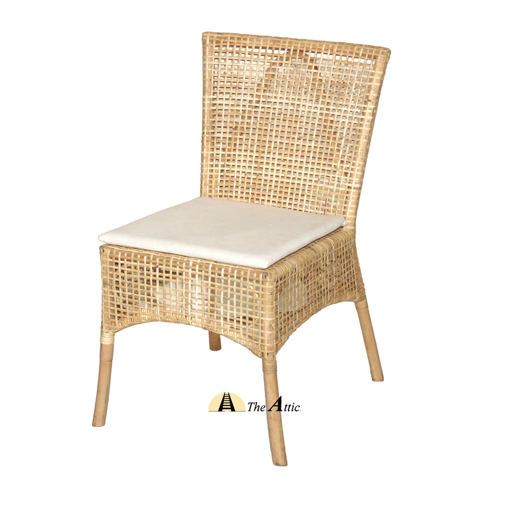 Tracy Rattan Dining Chair, Rattan Wicker Furniture - TheAttic-Dubai.com