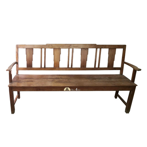 Vintage Bench 3-seater - Theattic-dubai.com