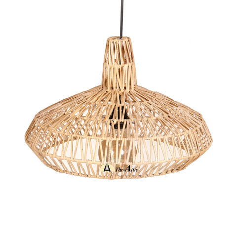 Cannes Rattan Pendant, Rattan Furniture - The Attic Dubai