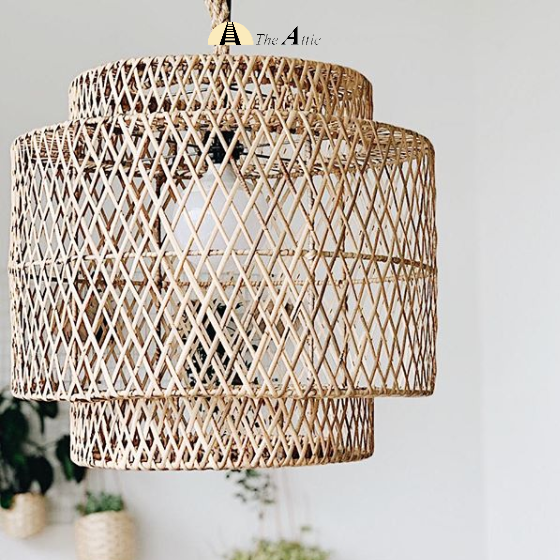 Kolombo Rattan Pendant, Rattan Furniture - The Attic Dubai