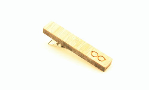 Wooden Glasses Tie Clip