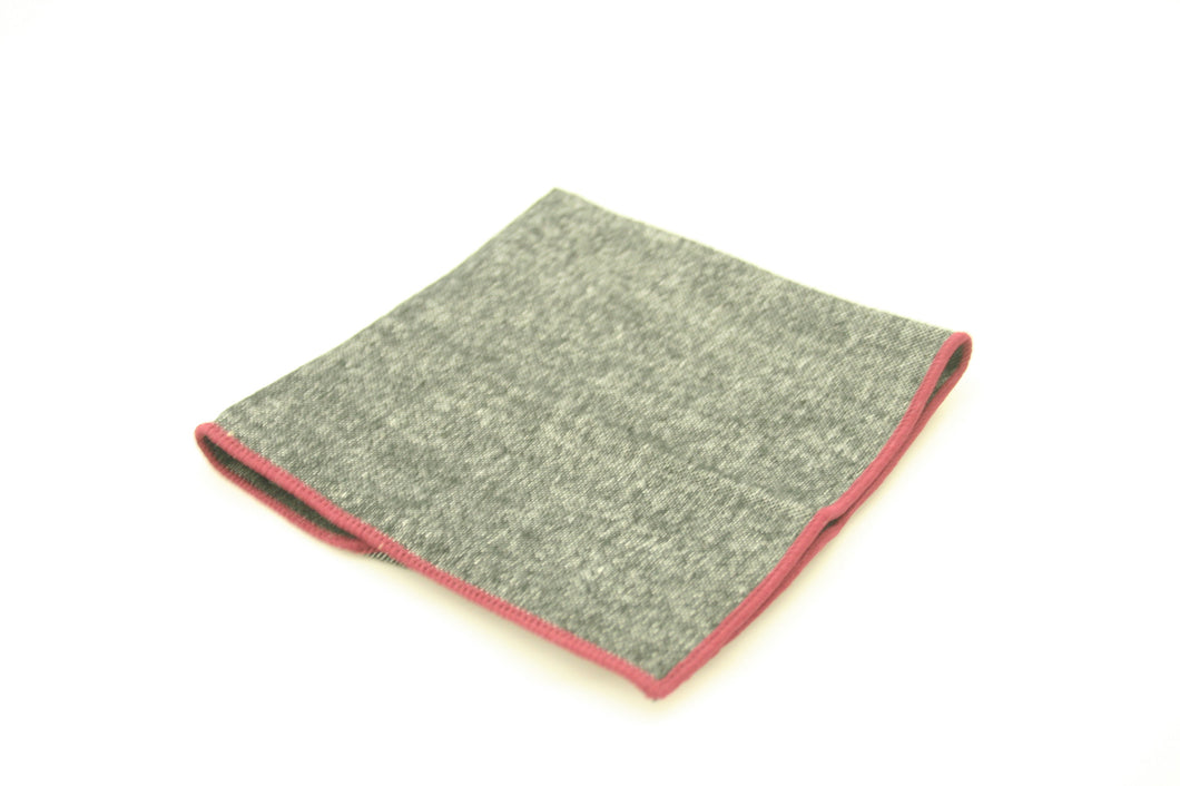 The Grey Pocket Square
