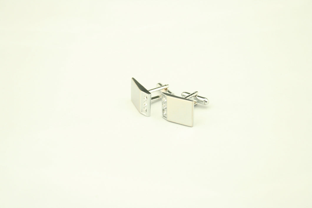Three Stone Cufflinks