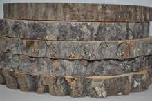 "Wood Slices 9"" to 11"" diameter x 1"" thick Package of 12. WholeSale"