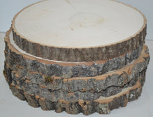 "Aspen Wood Slice 5"" to 7"" diameter x 1"" thick  Package of 10  Wholesale"