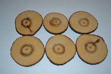 Aspen Log Coasters Set of Six