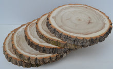 "Balm of Gilead Wood Slices 9"" to 11"" diameter x 1"" Package of 10. WholeSale"