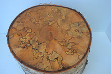 Spalted Birch Turning Stump With Bark BSTB-1 (SOLD)