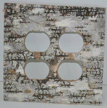 Birch Bark -No Sticks-Switch Plate, Receptacle and Rocker Plate Covers
