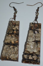 Birch Bark Earrings & Necklace Set
