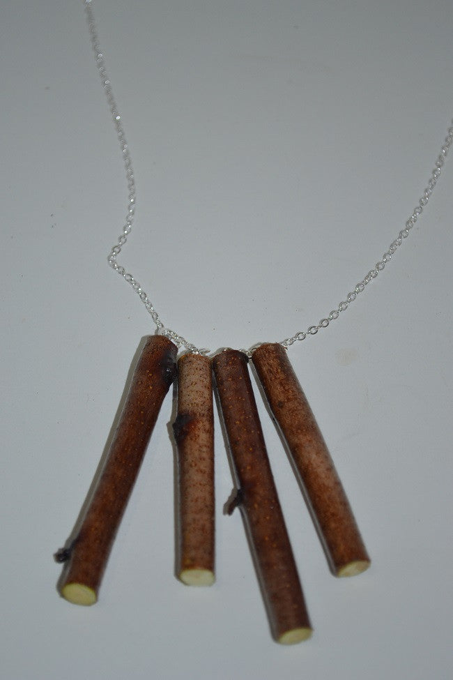 Birch Stick Necklace