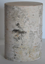 "White Birch Pillars-(Set of Five) 3 1/2"" to 5"" Diameter 3"",5"", 7"" Tall. Wholesale Pricing"