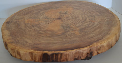 Log Slice Slab for Cake Stand, food Serving or Center Piece