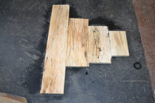Ambrosia Spalted Maple Craft Wood 4 Piece Set (SMC-100)  SOLD