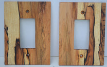 Spalted Maple Switch Plates, Rocker & Receptacle Covers