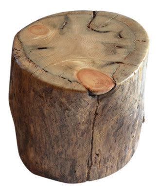 ... Reclaimed Log Stump End Table Side Table ...