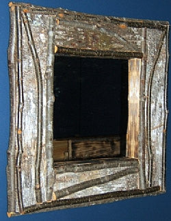 Superb Birch Bark Frame Only · Birch Bark Frame Only