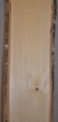 Birch Live edge Plank with Bark
