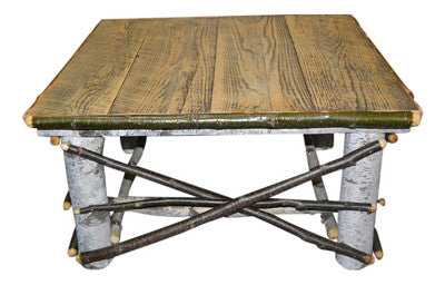 Birch Log Coffee Table Spirit of the Woods Rustic Furniture Decor