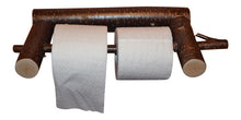 Rustic Log Toilet Paper Holder