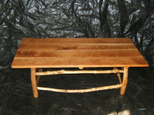 Maple Log Coffee Table