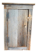 Rustic Barn Wood Wall Cabinet