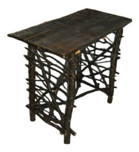 Rustic Log & Twig Bistro Table
