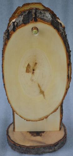 Tree Slice/Log Round Serving Boards-Bread Boards-Set of 6 with Stand