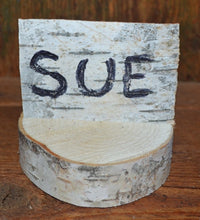"Birch Log Slice Name Place Holder   <p>Twenty  Slices  2 1/2"" to 3"" D x 1"" thick"