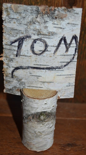 Birch Log Name Place Holder   <p>Twenty Logs  1