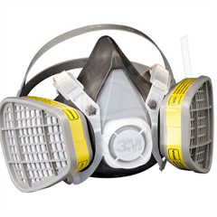 3M Maintenance-Free Gas & Vapour Respirator (medium)