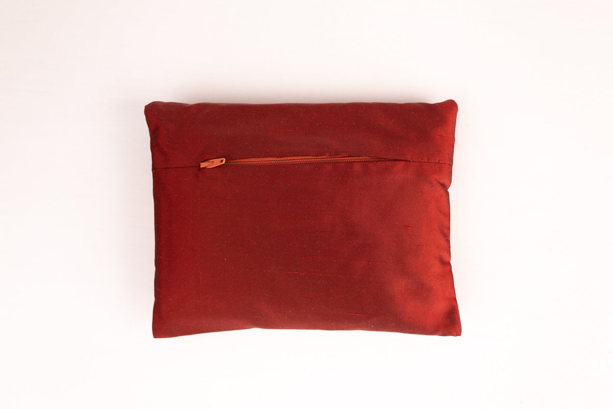 """Deco"" incense silk envelope cushion"