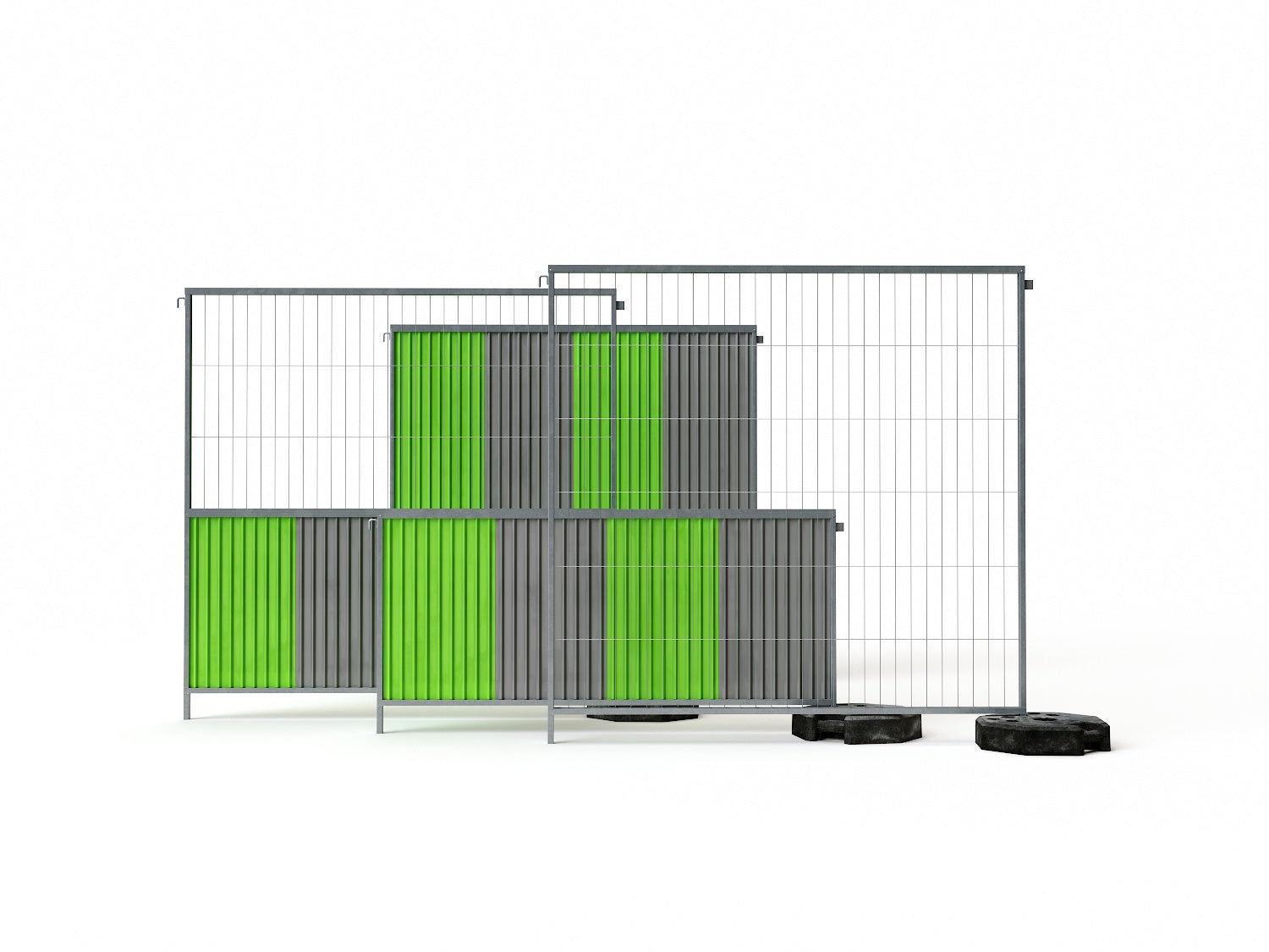 Parisian Mobile Fence - Nouvelle Mesure Lab