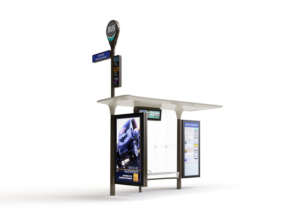 Load image into Gallery viewer, Modern Bus Stop - Nouvelle Mesure Lab